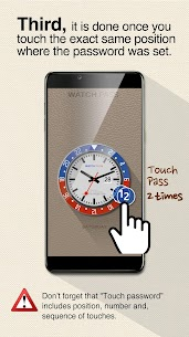 Watch password – Easy & strong Touch lock screen App Download for Android 7