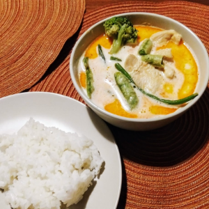 SAHD Recipe – Thai Red Curry Chicken