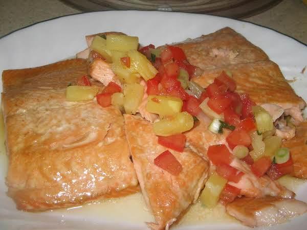 Teriyaki Salmon-baked