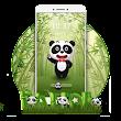 Green Bamboo Panda