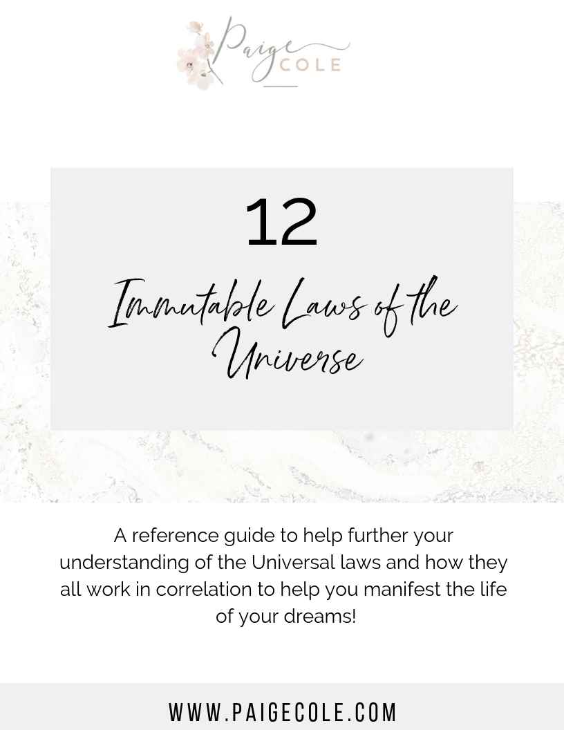 12 Universal Laws Guide