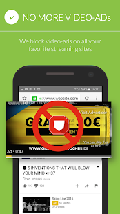 Free Adblocker Browser Screenshot