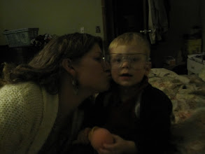 Photo: Mom can fix anything with a kiss.