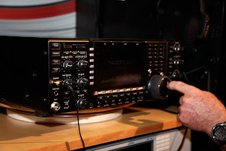Photo: Icom's IC-7700 HF/6m transceiver.  This is basically a single-receiver version of their IC-7800.