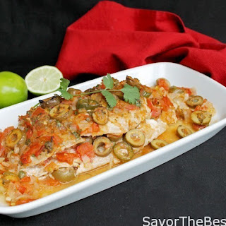 Red Snapper Veracruz