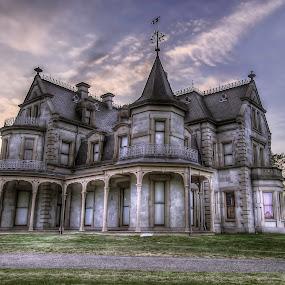 Lockwood-Mathews Mansion by Jeff Klein - Buildings & Architecture Public & Historical ( landmark, building, sky, mansion, outdoors, museum, architecture, house )