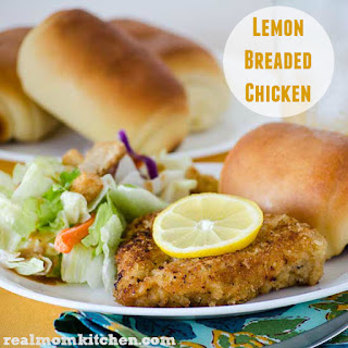 Lemon Breaded Chicken.