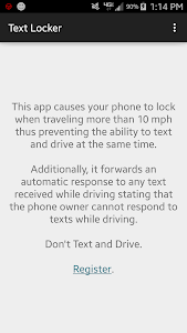 Text Lock screenshot 0