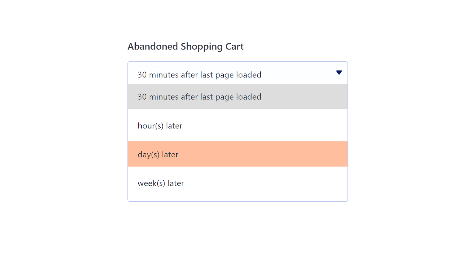 How to send WooCommerce abandoned cart emails: scheduling