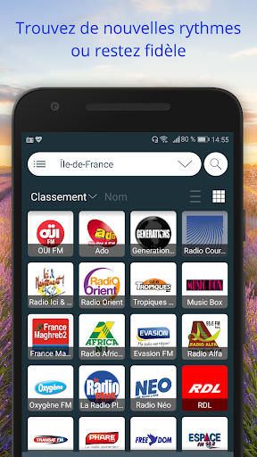 France Radios : u00c9couter Radio en Direct Gratuit 2.2.5 screenshots 2