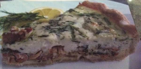Smoked Salmon Quiche Recipe