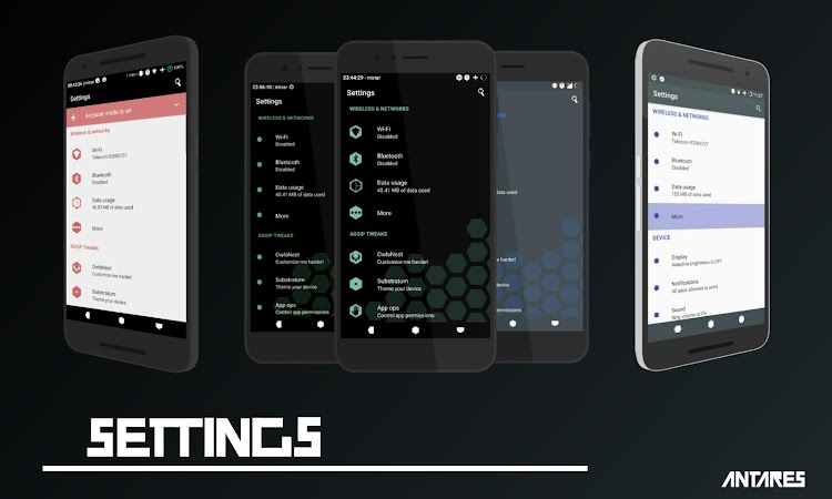 Antares Substratum Theme v2.1 [Patched]