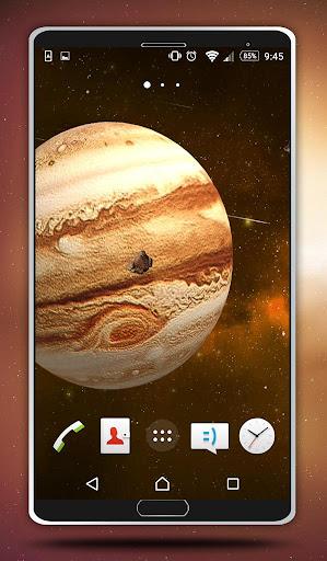 木星動態壁紙