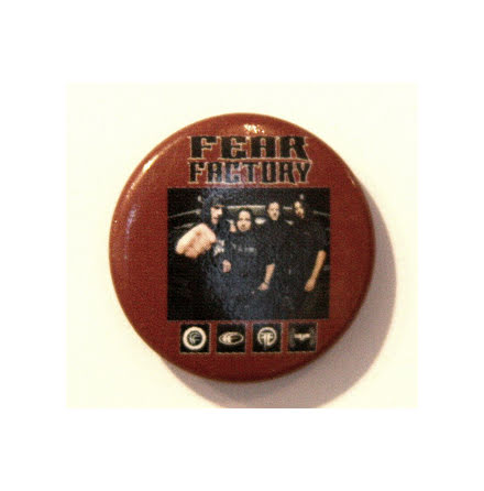 Fear Factory - Band pic - Badge