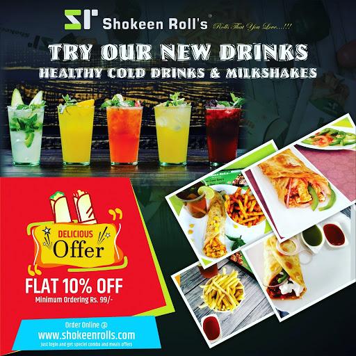 Shokeen Rolls menu 1