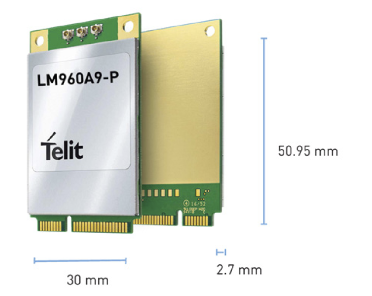 Telit module supports CBRS private networks