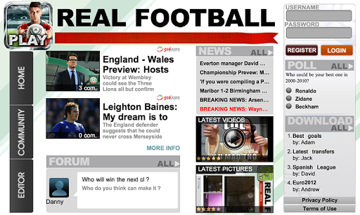 Real Football 2012 screenshot 13