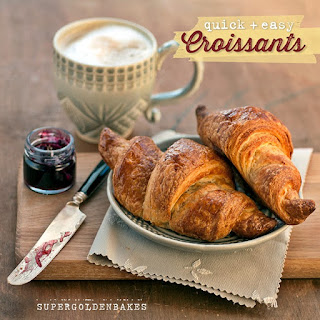 Quick Method Croissant Dough.