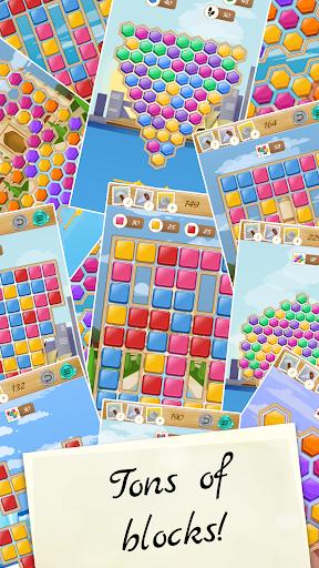 World of Blocks - blocks and bricks puzzles 1.1.7 Cheat screenshots 7