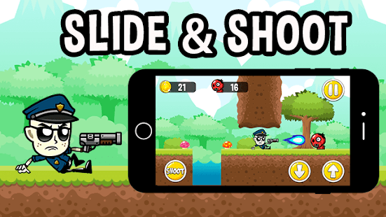 Cop vs Monsters: Police Games for Kids Shoot N Run - náhled
