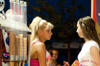 Photo: Eisverkäuferinnen in Makedonien