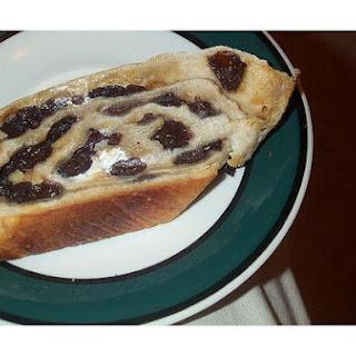 Italian Raisin Bread.