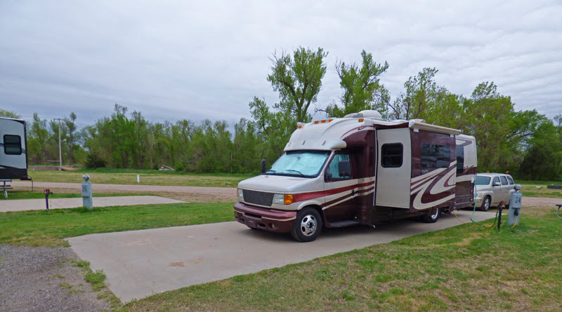 4 Acres RV Park, Kinsley, OK