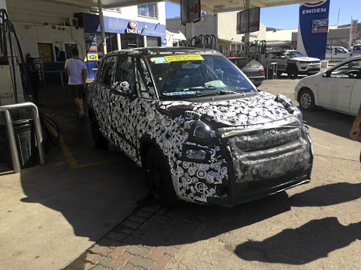 The new Fiat 500L will not be coming to SA, but look closely and you will see the new Jeep Compass, due here in the fourth quarter.    Picture: LEON POTGIETER