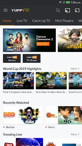 YuppTV screenshot 1
