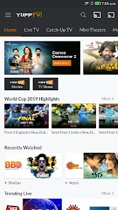 YuppTV – LiveTV Movies Shows App Download For Android and iPhone 1