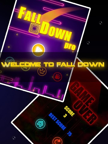 android Fall Down Pros Screenshot 1