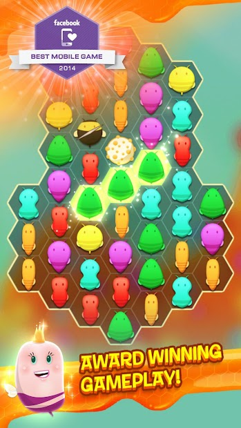 Disco Bees - New Match 3 Game Android App Screenshot
