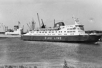 "Photo: ""Olau Kent"" in the port of Vlissingen (Photo: H.G. Hesselink)"