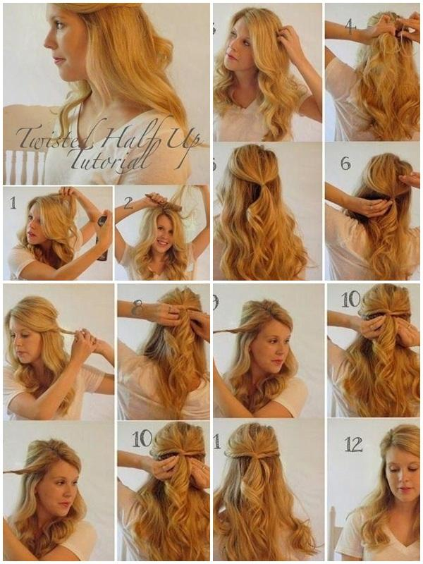 Easy Hairstyles Step By Step 25 best long hair updos ideas on pinterest updo for long hair diy hairstyles and hair updo Easy Hairstyle Step By Step Screenshot