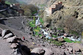 Photo: seguimos el curso del rio Oued Rheraya
