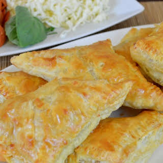 Pepperoni and Cheese Puff Pastry.