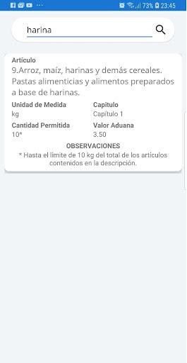 Normas Aduaneras de Cuba 13 screenshots 3