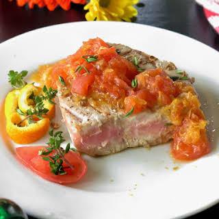 Tuna Steaks Tomato Sauce Recipes.