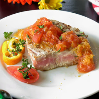 Tuna Steaks Tomato Sauce Recipes.