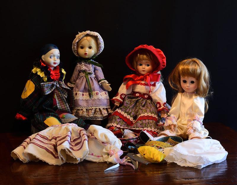 Cucire vestitini per le bambole di effemme