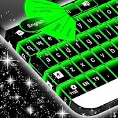 Neon Green Keyboard