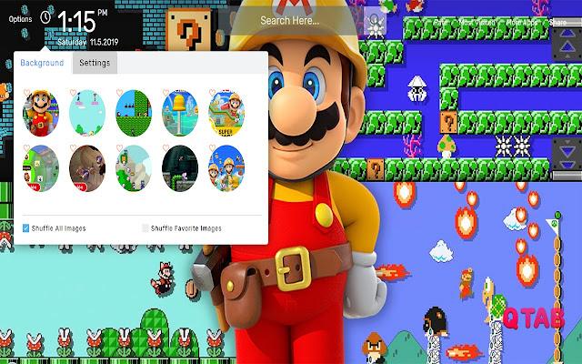 Super Mario Maker 2 Wallpapers HD Theme