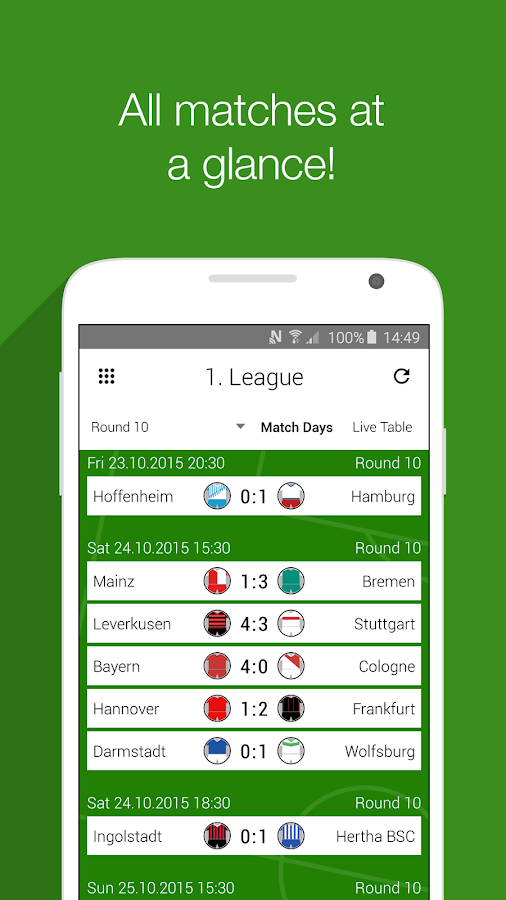 GoalAlert Football Live Scores- screenshot