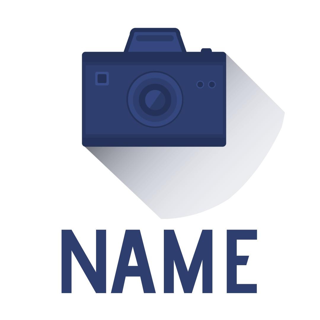 blue camera logo