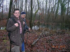 Photo: dans les bois vers la Hermeskappel, ..à proximité du Chêne des Suédois.