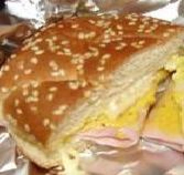 Ham Sandwiches Baked In Foil Recipe