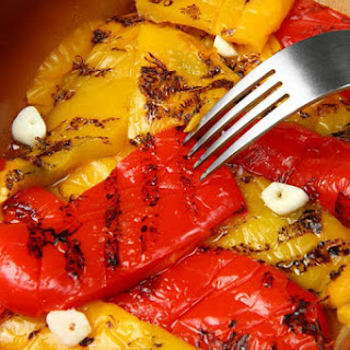 Grilled Peppers.