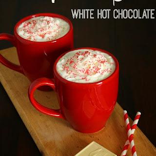 Vanilla Bean White Hot Chocolate.