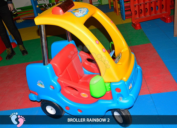 Xe chòi chân Broller Rainbow 2 6