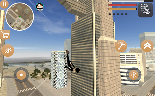Stickman Rope Hero 2 Screenshot